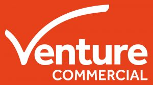 venture commercial logo